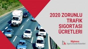 2020 Zorunlu Trafik Sigortası Ücretleri