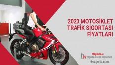 2020 Motosiklet Trafik Sigortası Fiyatları