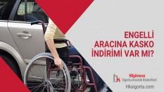 Engelli Aracına Kasko İndirimi Var mı?