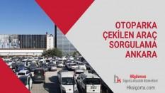 Otoparka Çekilen Araç Sorgulama Ankara