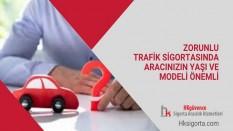 Zorunlu Trafik Sigortasında Aracınızın Yaşı ve Modeli Önemli