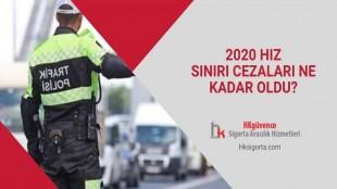 2020 Hız Sınırı Cezaları Ne Kadar Oldu?