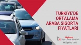 Türkiye'de Ortalama Araba Sigorta Fiyatları