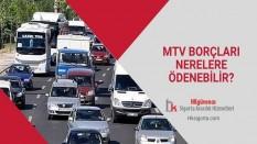 MTV Borçları Nerelere Ödenebilir?