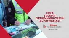 Trafik Sigortası Yaptırmamanın Cezasını Biliyor musunuz?