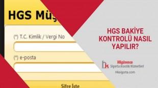 HGS Bakiye Kontrolü Nasıl Yapılır?
