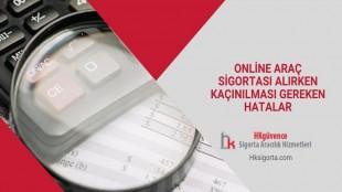 Online Araç Sigortası Alırken Kaçınılması Gereken Hatalar