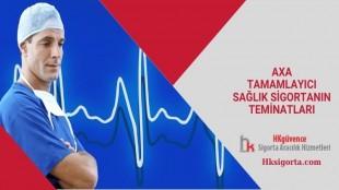 Axa Tamamlayıcı Sağlık Sigortanın Teminatları
