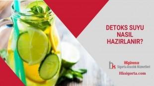 Detoks Suyu Nasıl Hazırlanır?