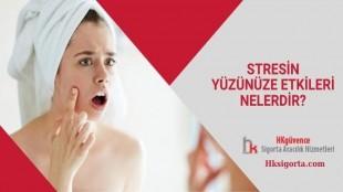 Stresin Yüzünüze Etkileri Nelerdir?