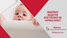 Bebeğiniz Beşikten Düştüğünde Ne Yapmalısınız?