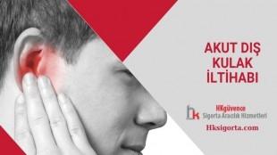 Akut Dış Kulak iltihabı