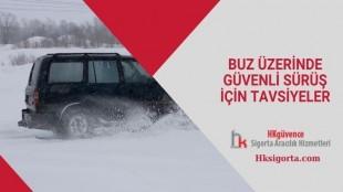 Buz Üzerinde Güvenli Sürüş İçin Tavsiyeler