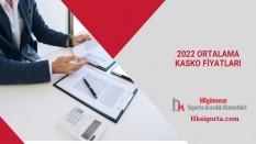 2022 Ortalama Kasko Fiyatları