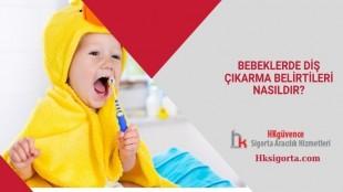 Bebeklerde Diş Çıkarma Belirtileri Nasıldır?