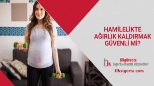 Hamilelikte Ağırlık Kaldırmak Güvenli mi?